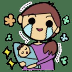 赤ちゃん生まれたよ(男の子)