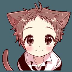 Naughty cat ear boy2