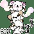 BIG シーズー犬&リボン犬【日常敬語】