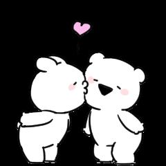 Extremely little Rabbit & bear Animated8
