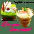 かわいいケーキスタンプ2♪英語版