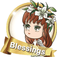 Blessings(2):Language of flower - Angel