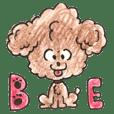"""Toypoodle Sticker""""Kotaro"""""""