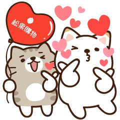Pcone × Shibasays 16 Stickers