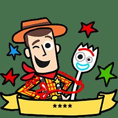 Toy Story 4 Custom Stickers