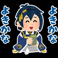 Touken Ranbu: Honmaru Stickers
