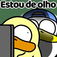 可愛いアヒル Duggy 2(ポルトガル語)