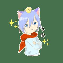 猫耳とヒヨコ