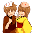 Kousei, Kouka, and Happiness