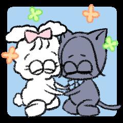 good friends Usako and Mi-ko