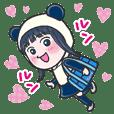Lucky Panda Girl