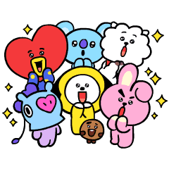 UNIVERSTAR BT21: Pint-Sized Cuteness
