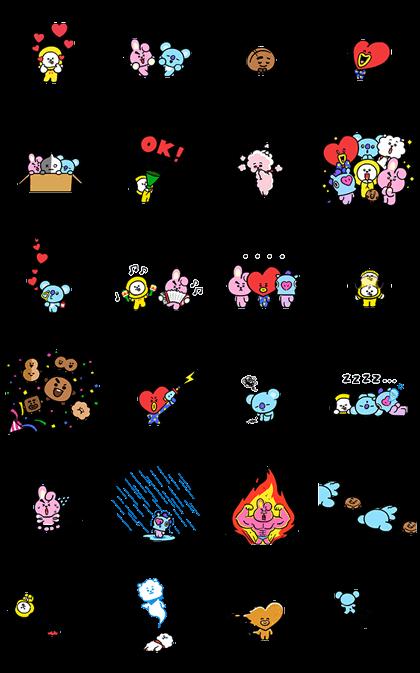 UNIVERSTAR BT21: Pint-Sized Cuteness