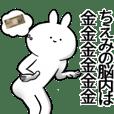chiemichan name Sticker