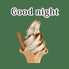 ソフトクリーム 美味しい と 英語 English