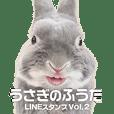 うさぎのふうた公式LINEスタンプ第2弾!