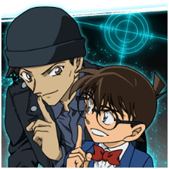 DETECTIVE CONAN: Big Stickers