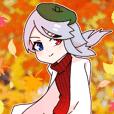 西念幽子さんスタンプ第6弾!「秋」