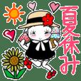 ひま子ちゃん361夏休み&休日スタンプ