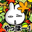 感情を顔に表さないウサギ -7 秋