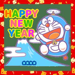 Custom Doraemon New Year's Gift Stickers