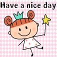 (cute english sticker126)