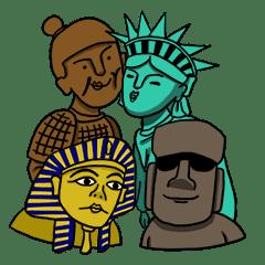 世界遺產四劍客