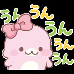 สติ๊กเกอร์ไลน์ Super Cute Mamegoma Stickers