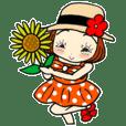 ひま子ちゃん363大人女子日常感動スタンプ