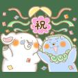 奈良国立博物館「ざんまいず」スタンプ