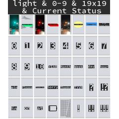 light & 0-9 & 19x19 & Current Status