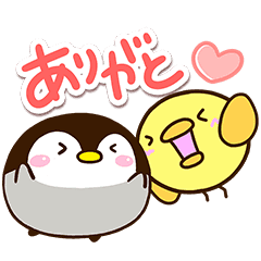 Penguin and Chick Sticker5