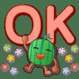 cute watermelon-practical greetings
