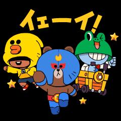 BRAWL STARS × LINE FRIENDS