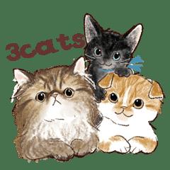 3cute-cats's sticker