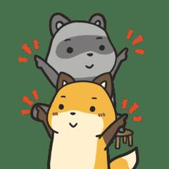 狐狸梨子與石灰泥-日常