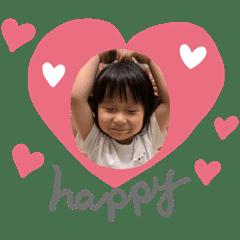 女兒是世界上最可愛的存在