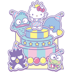 SANRIO CHARACTERS (Greetings)