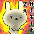 井上さんの為の容疑者ウサギ