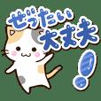 毎日便利な✨お茶目な三毛猫
