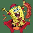 SpongeBob SquarePants CNY Stickers