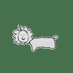 アニマル(ライオン、ぞう)