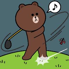ゴルフ大好き!BROWN & FRIENDS