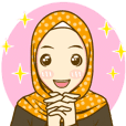 Lovely Hijab : Animated