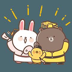 胖古人×BROWN & FRIENDS