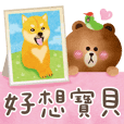 赤柴犬BUI情侶篇BROWN & FRIENDS (VOL.18)
