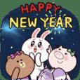 旅行豬豬xBROWN & FRIENDS 節慶祝福