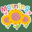 แชทพาสเทล ดอกไม้ยามเช้า