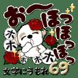 シーズー犬 69『文字に埋もれ』