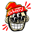 UrboyTJ Sticker